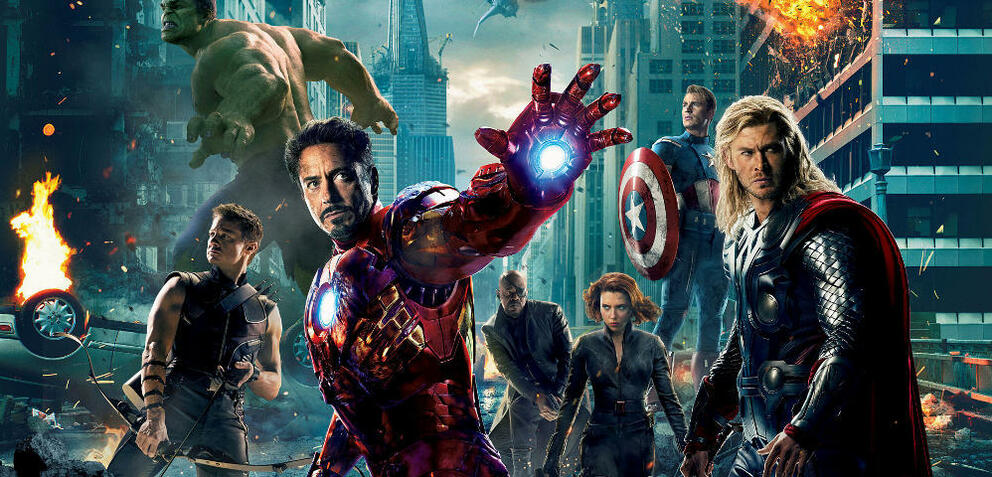 Gruppenbild mit Dame: Marvels Avengers