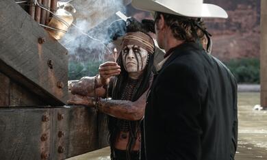 Lone Ranger mit Johnny Depp und Armie Hammer - Bild 1