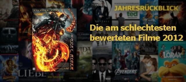 Eure am schlechtesten bewerteten Filme 2012