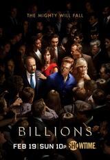 Billions - Staffel 2 - Poster
