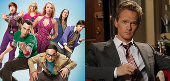 The Big Bang Theory & Barney aus How I Met Your Mother