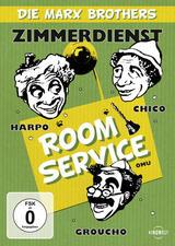 Die Marx Brothers - Zimmerdienst - Poster