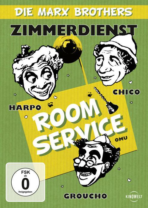 Die Marx Brothers - Zimmerdienst - Bild 1 von 1