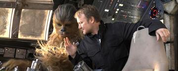 Rian Johnson am Set von Star Wars 8
