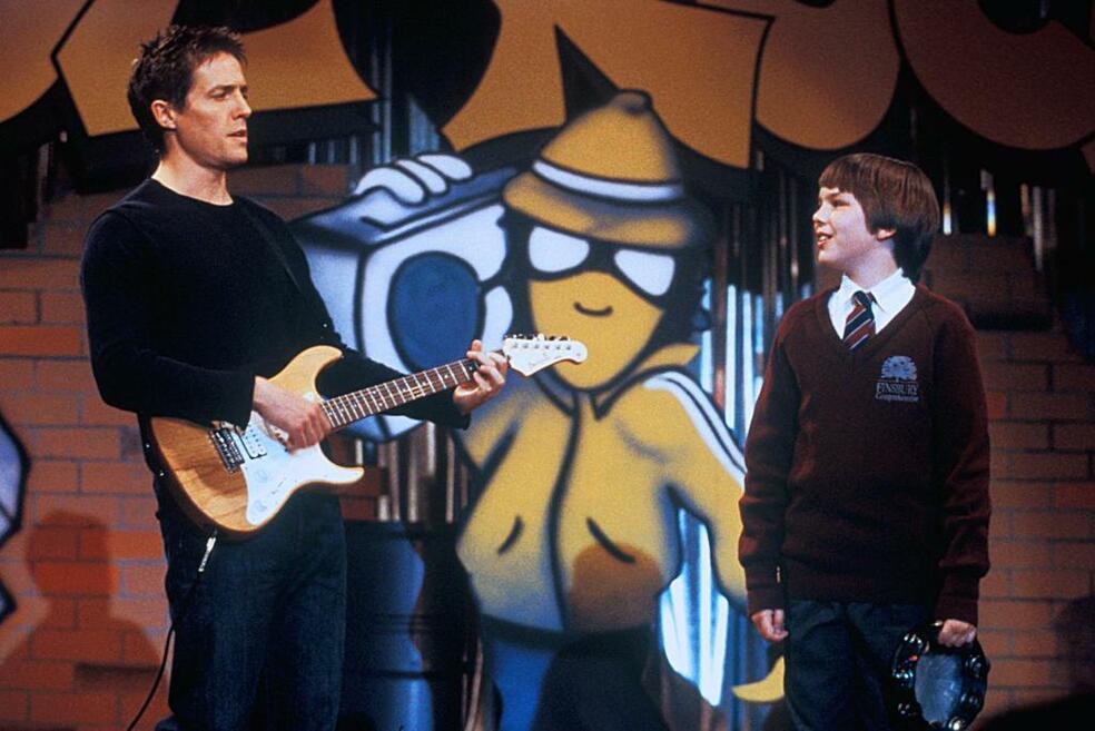 About a Boy oder: Der Tag der toten Ente mit Hugh Grant und Nicholas Hoult
