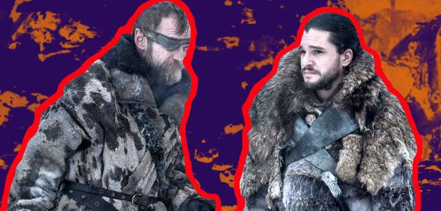 Richard Dormer und Kit Harington in Game of Thrones