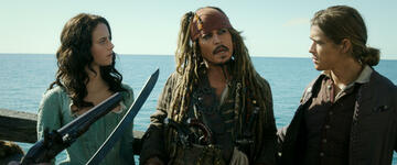Johnny Depp in Pirates of the Caribbean 5: Salazars Rache