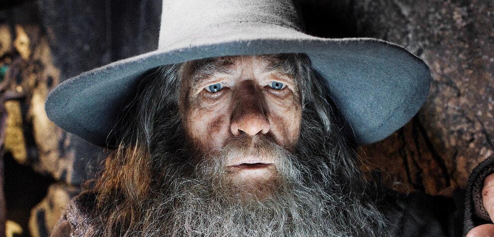 Ian McKellen als Gandalf inDer Hobbit: Smaugs Einöde