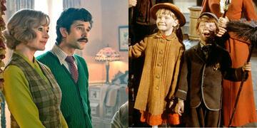 Ben Whishaw und Emily Mortimer in Mary Poppins' Rückkehr