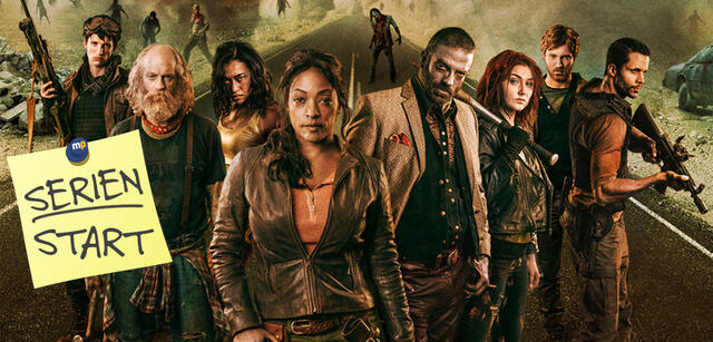 Der Cast aus Z Nation