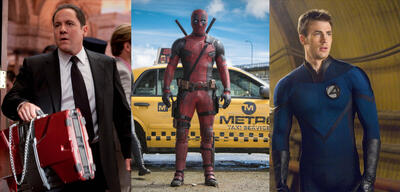 Iron Man 2, Deadpool,4: Rise of the Silver Surfer