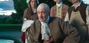 Charles Dance in The Iron Mask