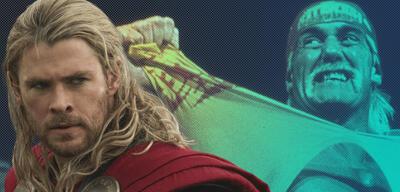 Chris Hemsworth und Hulk Hogan