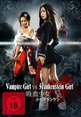 Vampire Girl vs. Frankenstein Girl - Poster