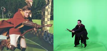 Bild zu:  Vor und hinter den Kulissen
