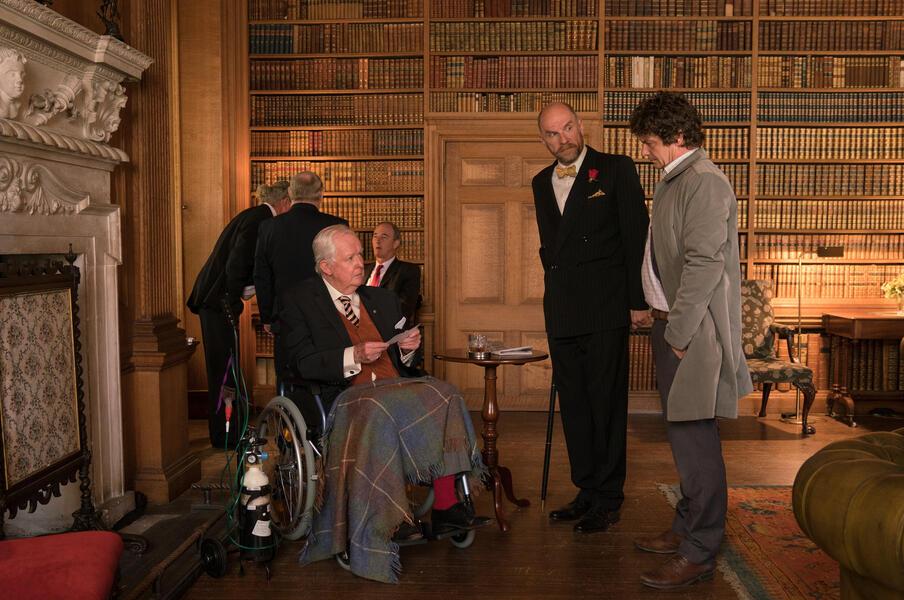 Inspektor Jury spielt Katz & Maus mit Fritz Karl und Götz Schubert