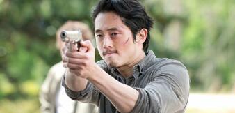 Steven Yeun als Glenn in The Walking Dead