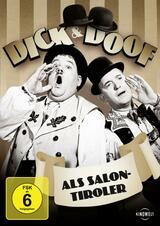 Dick und Doof als Salontiroler - Poster