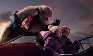 The Christmas Chronicles mit Kurt Russell, Judah Lewis und Darby Camp - Bild 4