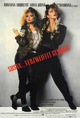 Susan... verzweifelt gesucht - Poster