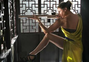 Rebecca Ferguson in Mission: Impossible 5 - Rogue Nation