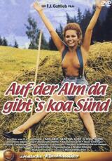 Auf der Alm, da gibt's koa Sünd' - Poster