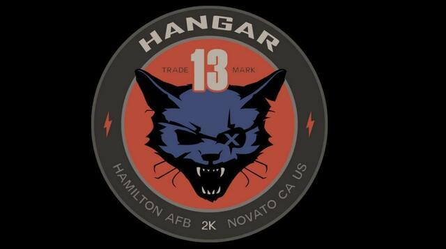 Das offizielle Logo von Hangar 13