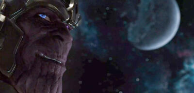 Damion Poitier als Thanos in The Avengers