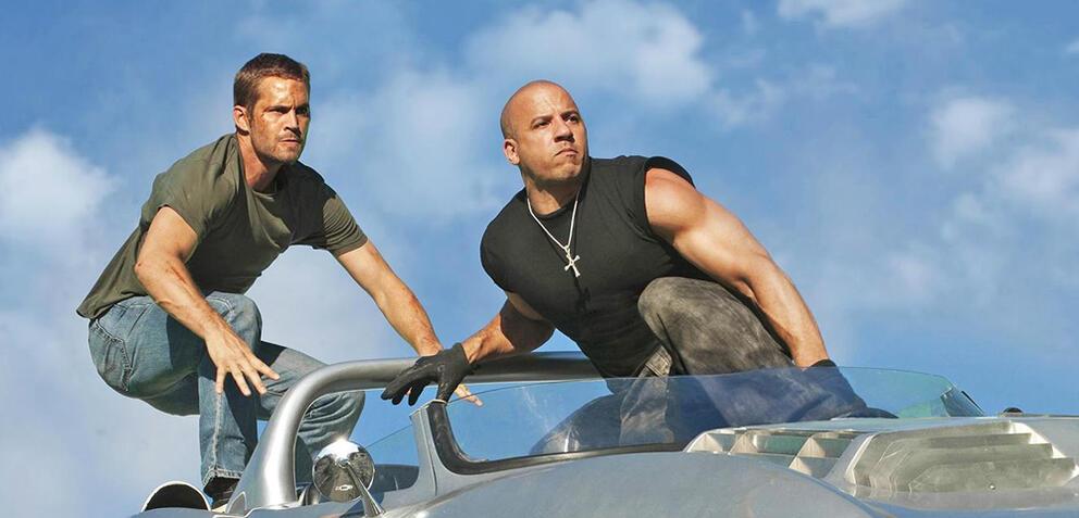 Fast & Furious 7 mit Vin Diesel und Paul Walker