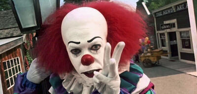 Der Clown Pennywise in Stephen Kings Es