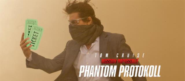 Premierenkarten für Mission Impossible: Phantom Protokoll