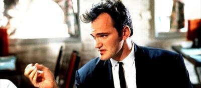 Quentin Tarantino in Reservoir Dogs