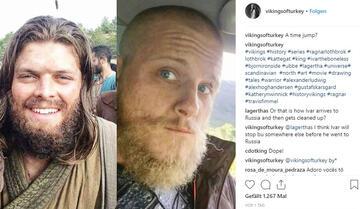 Vikings Staffel 6: Ivar (links) im neuen Look