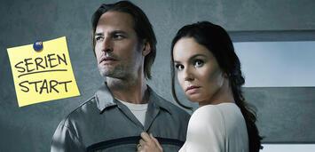 Bild zu:  Colony, Staffel 2:Josh Holloway und Sarah Wayne Callies