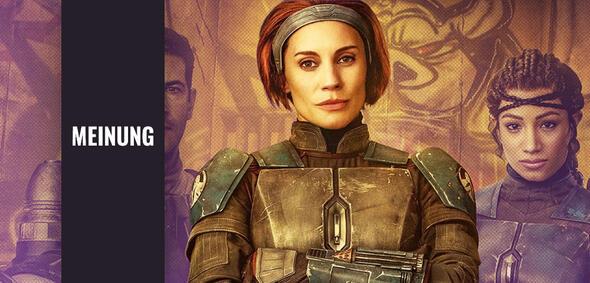 Katee Sackhoff als Bo-Katan Kryze in The Mandalorian