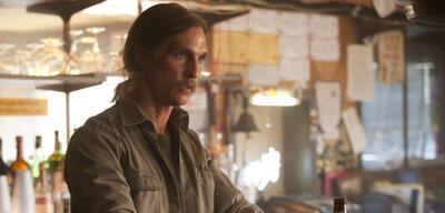 Matthew McConaughey als Rust Cohle in der ersten Staffel True Detective