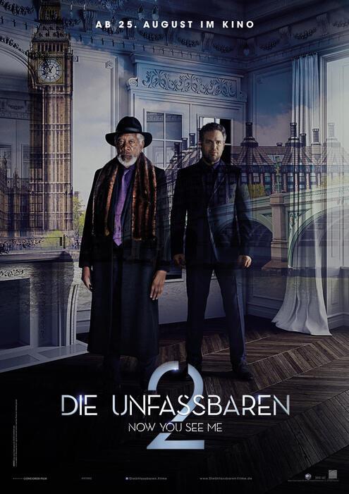Die Unfassbaren 2 mit Morgan Freeman und Mark Ruffalo