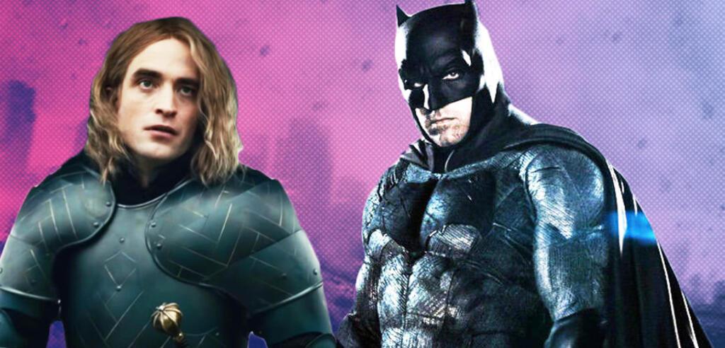 Robert Pattinson in The King, neben ihm Ben Affleck als Batman