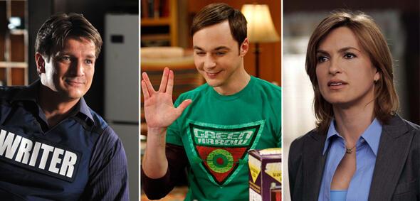 Nathan Fillion, Jim Parsons und Mariska Hargitay sind die Stars ihrer Serien