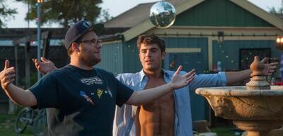 Seth Rogen und Zac Efron in Bad Neighbors