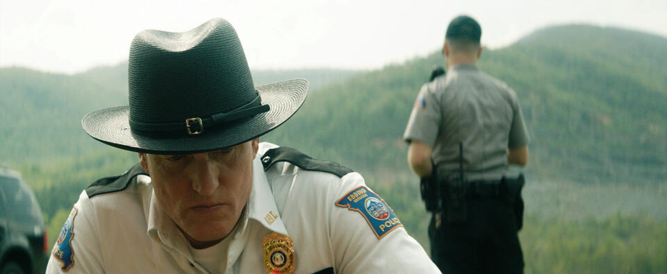 Three Billboards Outside Ebbing, Missouri mit Woody Harrelson und Sam Rockwell