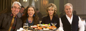 Der Cast von Grace and Frankie
