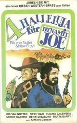 Vier Halleluja für Dynamit-Joe - Poster