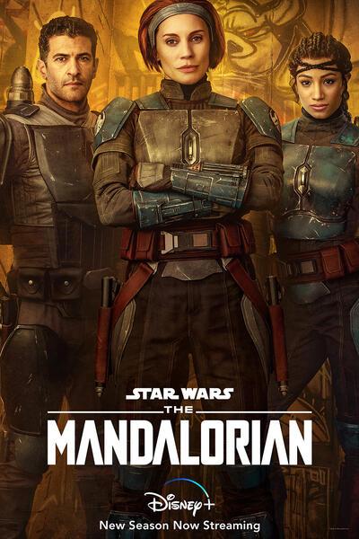 The Mandalorian - Staffel 2 mit Katee Sackhoff, Simon Kassianides und Sasha Banks