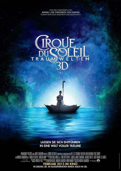 Cirque du Soleil: Traumwelten 3D Poster