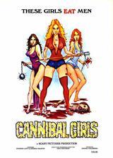Cannibal Girls - Der Film mit der Warnglocke - Poster