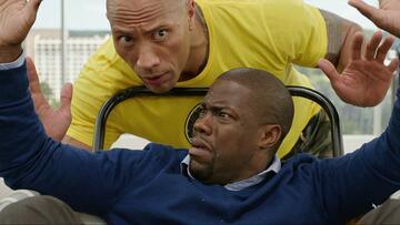Dwayne Johnson und Kevin Hart in Central intelligence