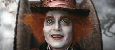 Johnny Depp als verrückter Hutmacher