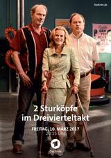 2 Sturköpfe im Dreivierteltakt - Poster