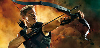 Jeremy Renner als Hawkeye